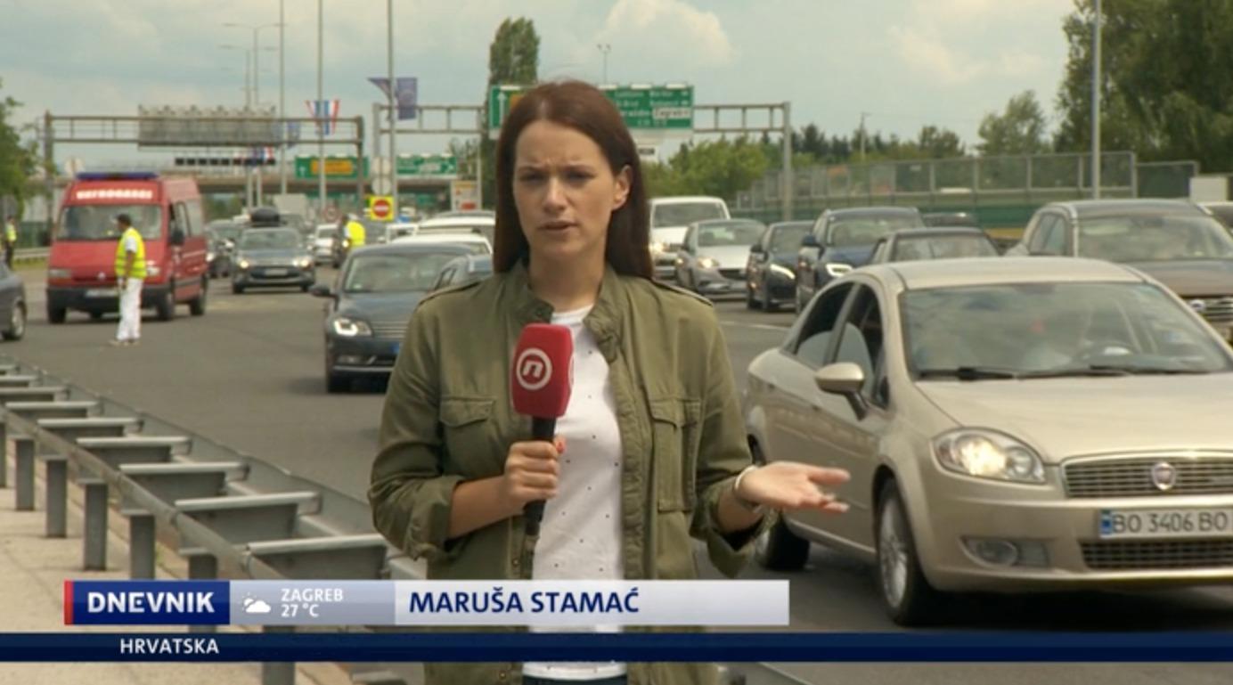 Maruša Stamać - experienced TV presenter, reporter, journalist and media trainer