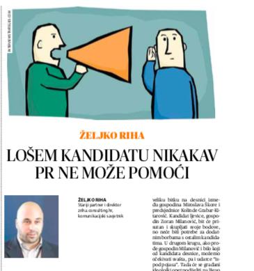 Glas Slavonije - intervju - Željko Riha