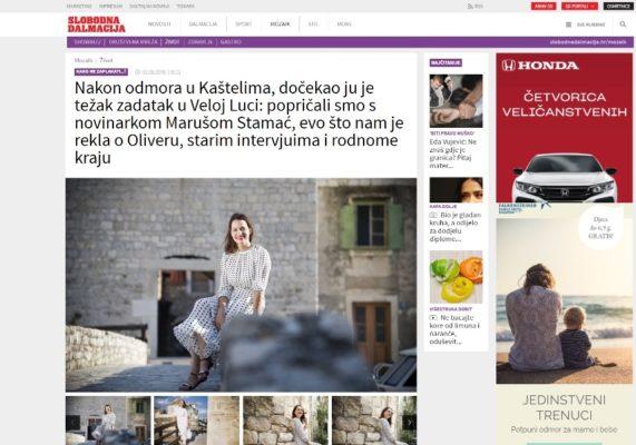 Maruša Stamać Slobodna Dalmacija