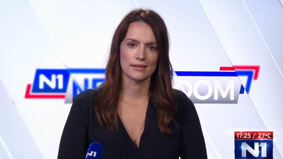 Marusa Stamac na N1 Televiziji